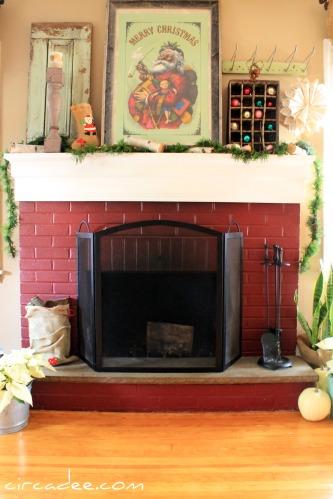 Christmas Mantel 2011