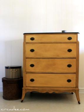 aged arles dresser