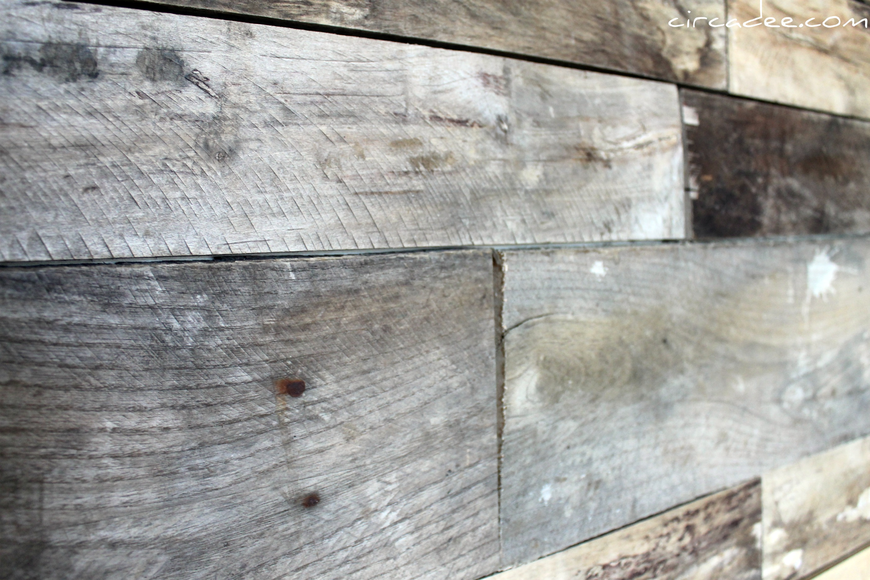 Pallet Wood Backsplash Wood Backsplash
