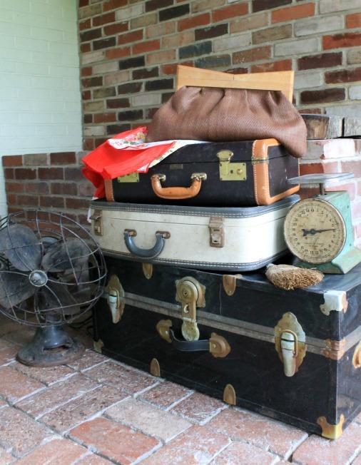 pile of vintage