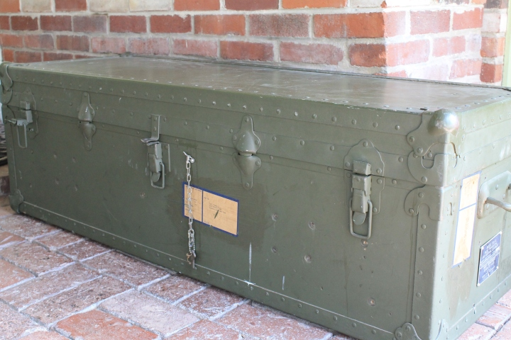 Vintage US Navy Ammo Trunk