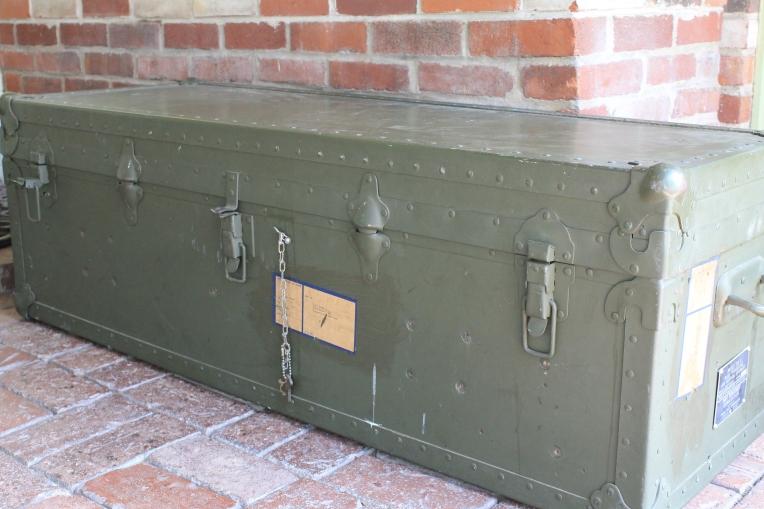 Vintage US Navy Ammo Trunk