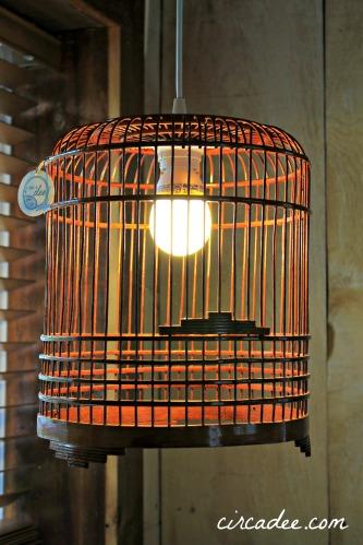 Vintage Birdcage Light