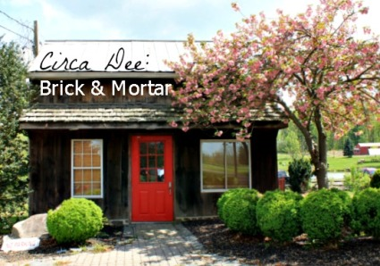 Circa Dee: Brick & Mortar - featuring occassional sales & events