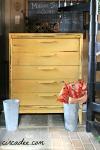 Yellow Mid-century Dresser