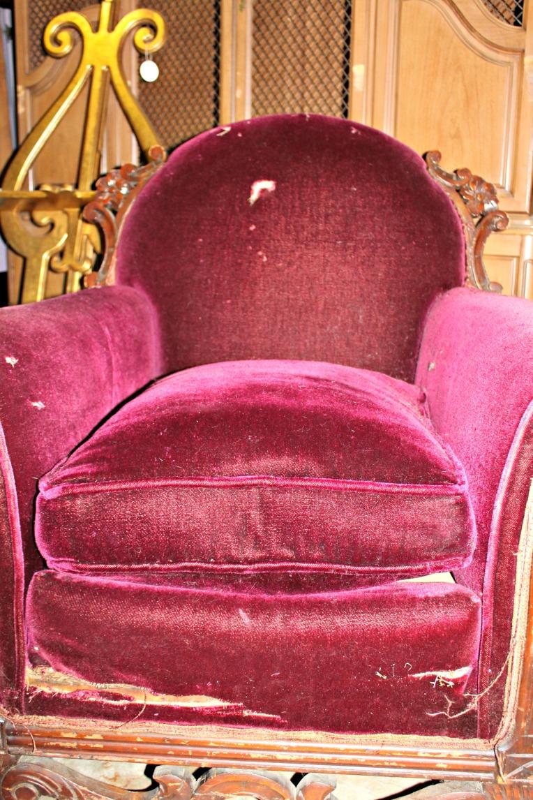 club chair before