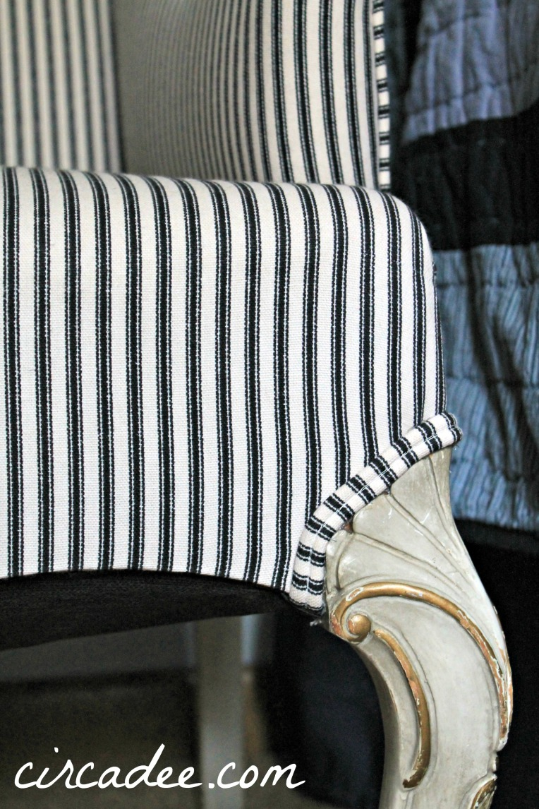 French settee makeover
