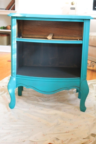 french nightstand florence chalk paint