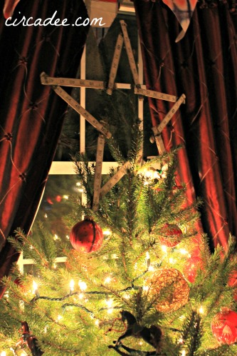 upcycled star tree topper