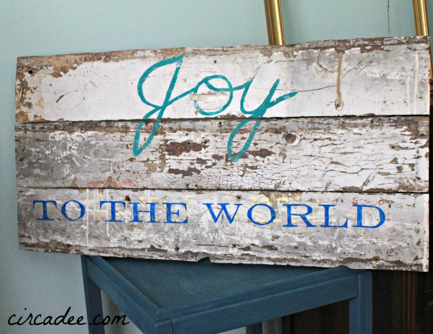 rustic joy to the world