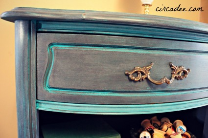 french nightstands with milk paint and florence chalk paint