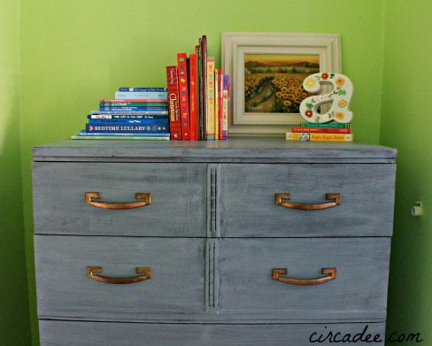 Shutter Gray washed dresser