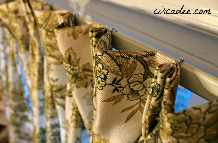 how-to hang drapes