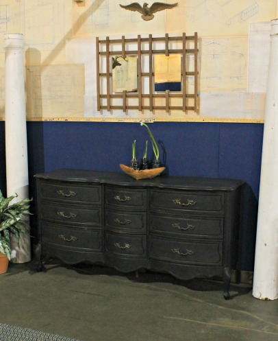 Home Show - Milk painted dresser