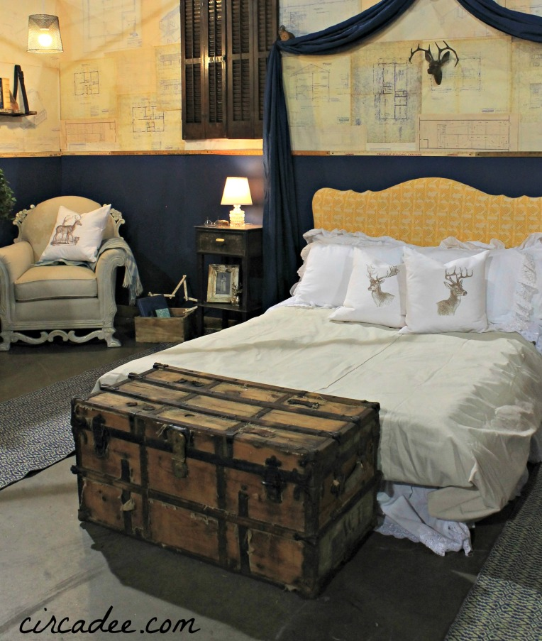 Reclaimed Industrial Bedroom