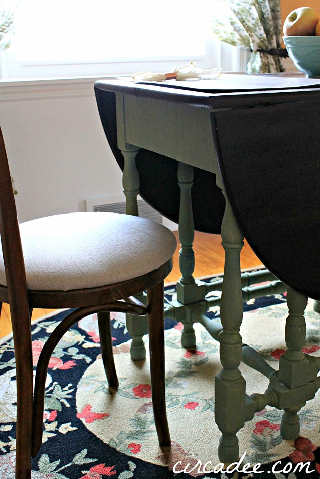 reupholstered linen bentwood chair