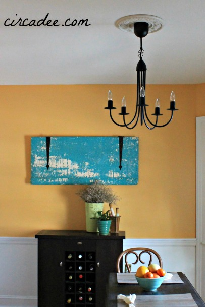 dining room paint inspired by arles