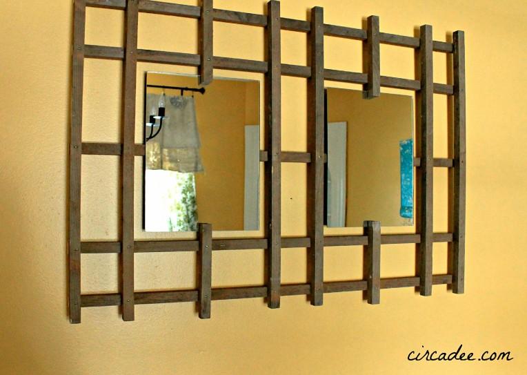 garde trellis mirror