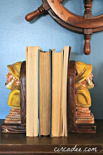 fisherman bookends