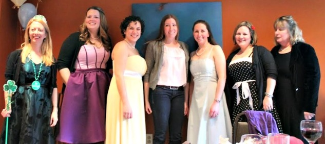 27 dresses themed bridal shower