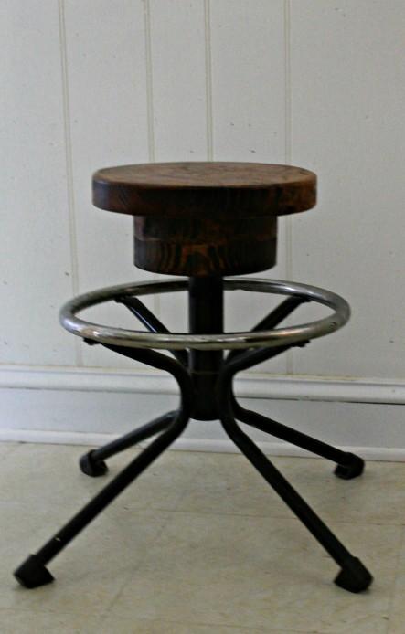 repurposed stool