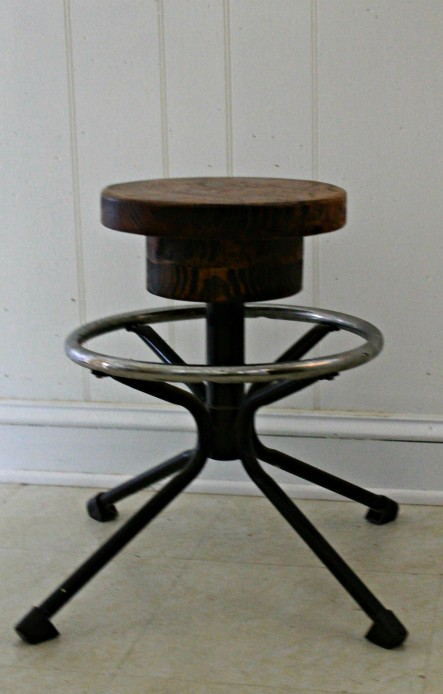 repurposed stool