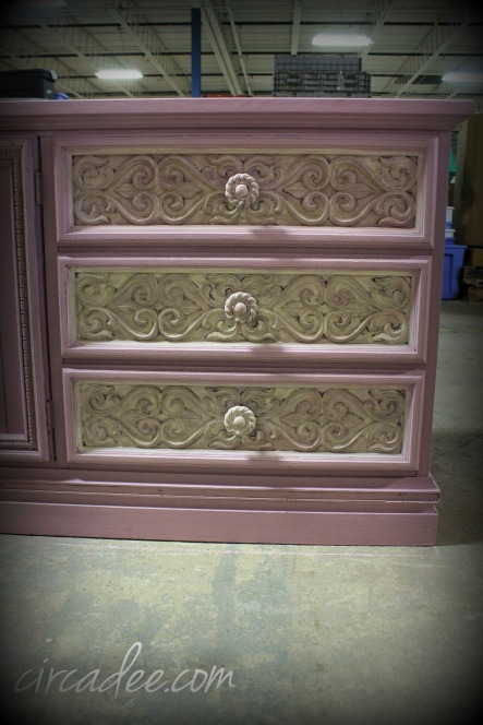 Linen milk paint over Henrietta chalk paint