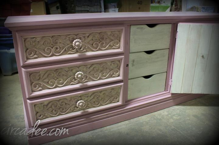Ironstone milk paint drawers