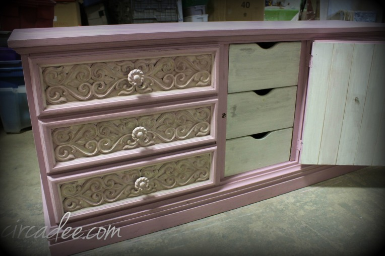 Ironstone milk paint drawers