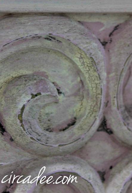 Linen milk paint over Henrietta chalk paint