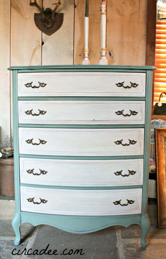 Kitchen Scale & Linen French Dresser by Circa Dee