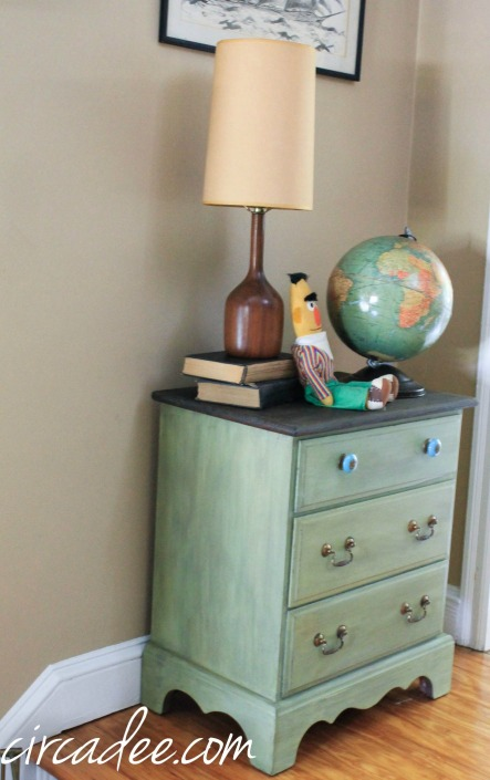 lucketts green milk paint chest (1 of 30)