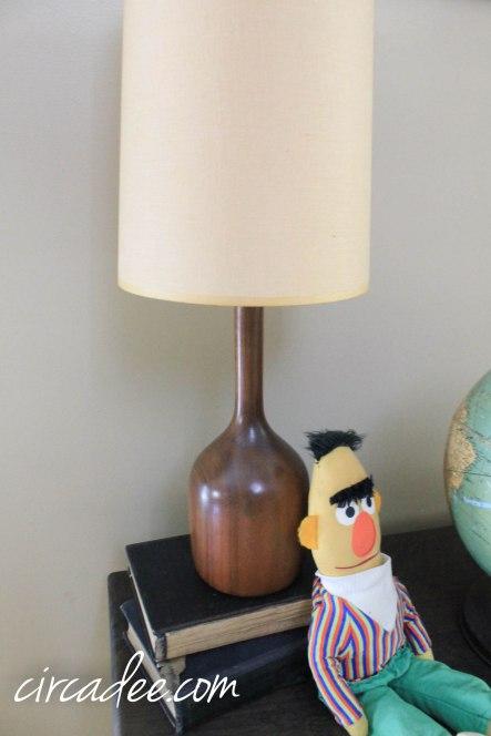 vintage mid-century lamp