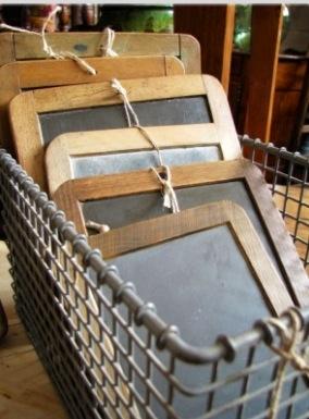 vintage school slates