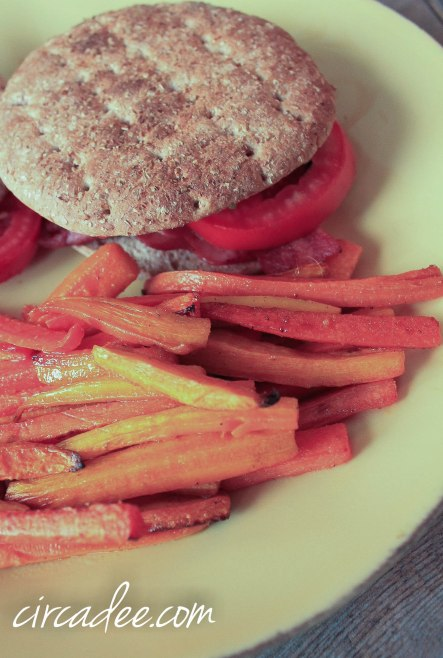 easy carrot fries recipe