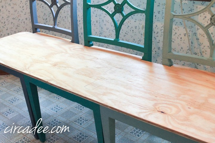 upcycled chairs turned custom bench (4 of 38)