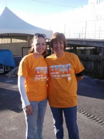 Bike MS team volunteers