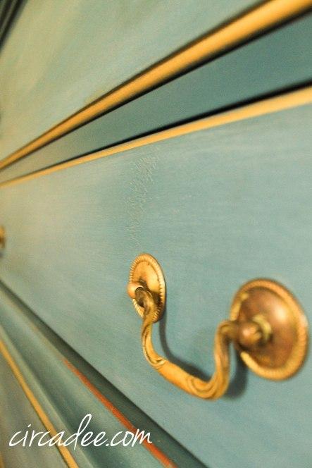 flow blue dresser white wax gilded dresser