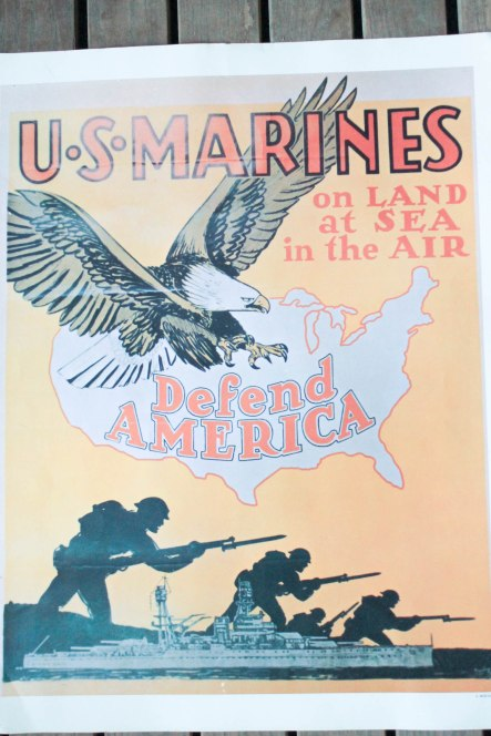 USMC vintage recruiting posters (2 of 2)