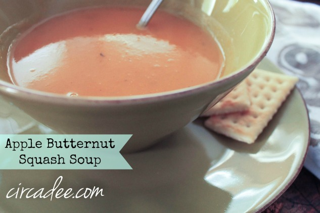 apple butternut squash soup recipe