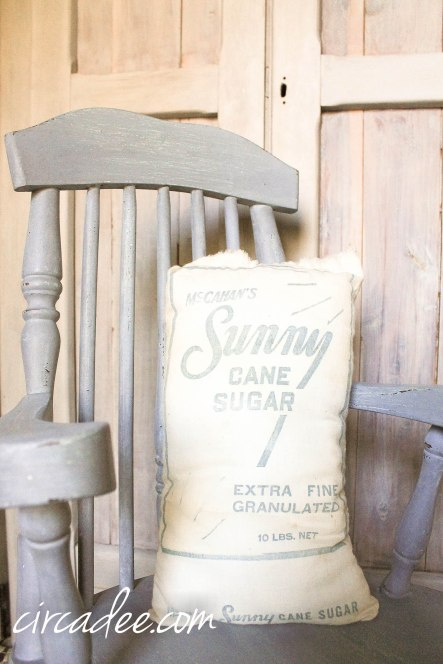 Dried Lavender Rocking Chair by Circa Dee - Miss Mustard Seed's Milk Paint