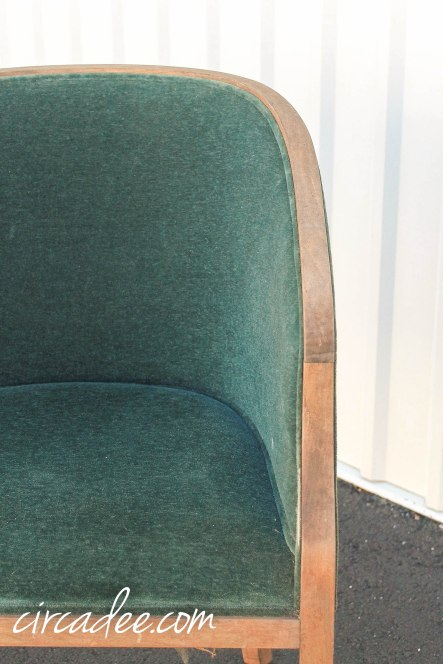 vintage Ward Bennett for Brickel Associates Landmark chair