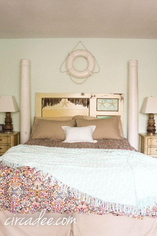 architectural salvage bedroom