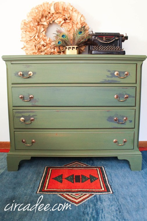 boxwood milk paint dresser