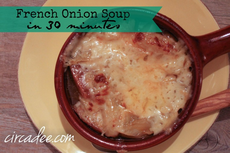 French Onion Soup in 30 minutes
