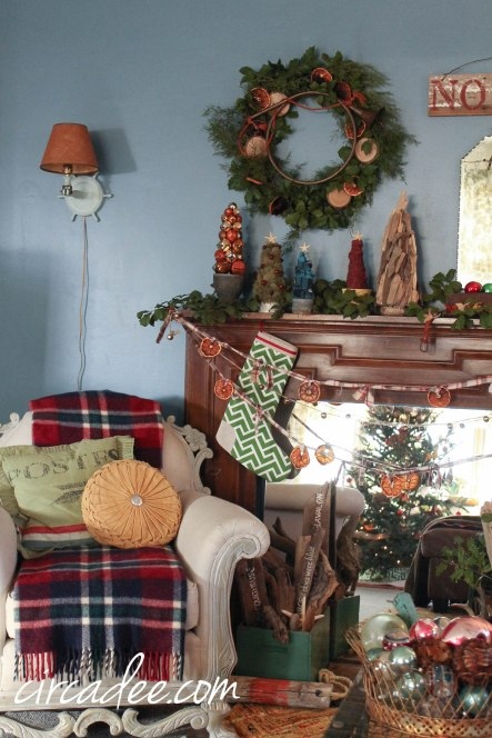 Eclectic Christmas Beach House