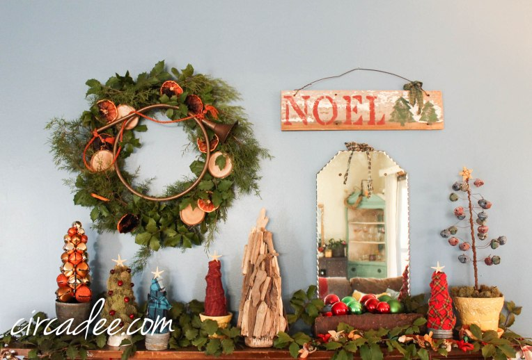 Eclectic Christmas Beach House