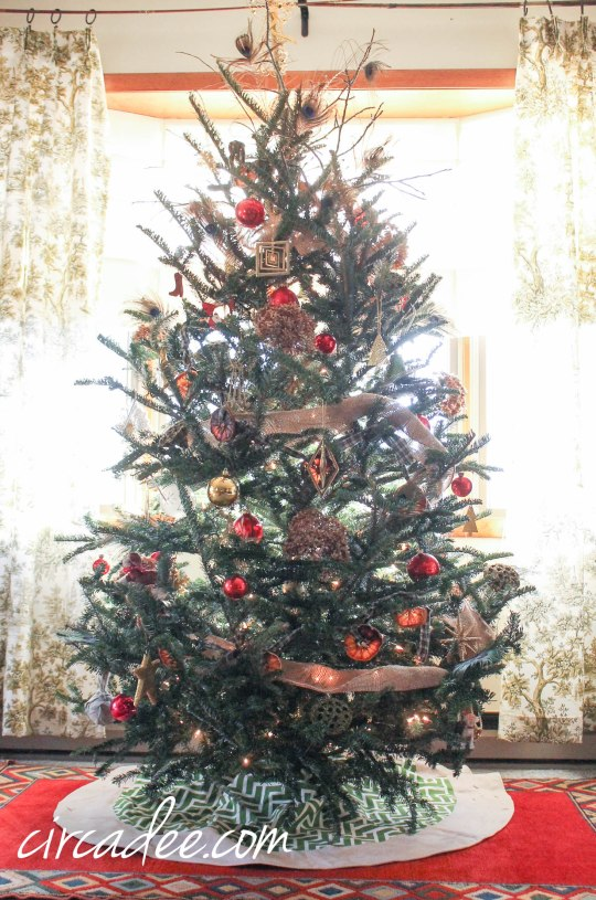 Organic Christmas Tree decor