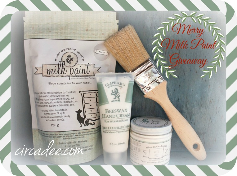 Merry Milk Paint Giveaway by Circa Dee expires 12-24-13
