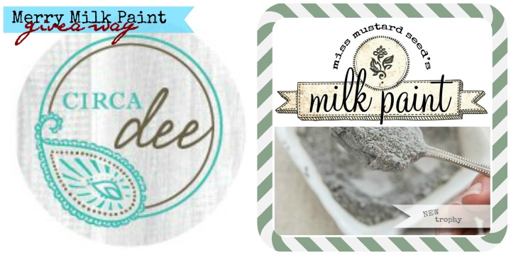 Merry Milk Paint Giveaway from Circa Dee